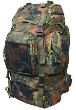Camouflage Flecktarn 55L COMMANDO Sac à dos Style Armée Randonnée Camping à
