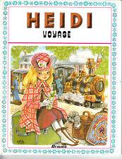 HEIDI VOYAGE . EDITION ORIGINALE . 1977 .   EDITIONS HEMMA .