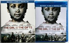 THE GIRL WITH ALL THE GIFTS BLU RAY DVD 2 DISC SET + SLIPCOVER SLEEVE FREE SHIP