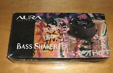 Aurasound Bass shaker  / New in box (Pair)  automotive component audio speakers