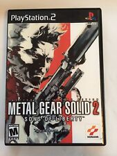 Metal Gear Solid 2 Sons of Liberty - Playstation 2 - Replacement Case - No Game