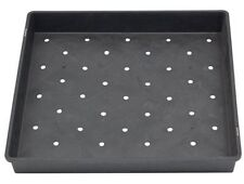 """3 Pack ~Large 17"""" x 17"""" Heavy Duty Planting Tray with Holes ~Wheatgrass, Sprouts"""