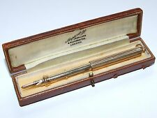 Stunning c1910 Antique Solid 15ct Gold S.Mordan & Co Dipping Pen & Pencil 20g
