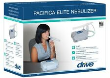 NEW Pacifica Elite Nebulizer Compressor by Drive Medical + 5 Washable Filters