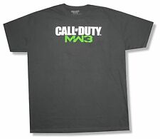 "CALL OF DUTY ""MW3""  CHACOAL GREY T-SHIRT NEW ADULT 2XL OFFICIAL MODERN WARFARE 3"