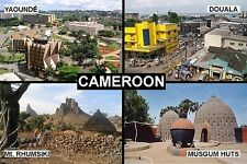 SOUVENIR FRIDGE MAGNET of CAMEROON THE CAMEROONS