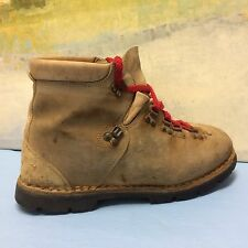 Thom Mcan Vtg Vibram made in Italy Mountaineering Leather Hiking Boots Size 10