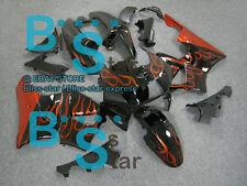 Flames ABS Fairing Bodywork Plastic Kit Honda CBR900RR CBR919RR 1998-1999 D5
