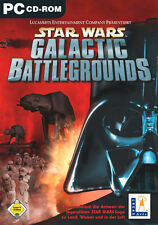 Star Wars Galactic Battlegrounds LucasArts PC in DVD Hülle