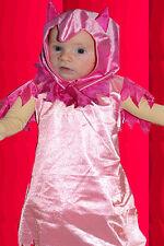 419✪ rosa pink Devil Teufel Teufelin Kostüm für Mädchen Teufelchen Gr. 104