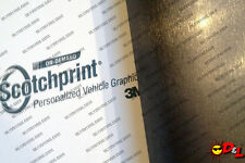"3M 1080 Scotchprint Brushed Steel Wrap Film 18""x24"" 3 sq. ft. BR201"