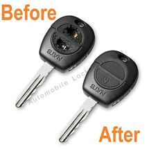 Refurbishment for Nissan X-Trail Almera Tino 2 button remote key SERVICE FIX