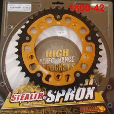 Supersprox Stealth Kettenrad Suzuki GSX-R 1000, GSXR1000, 42 Z, RST 1800-42 gold
