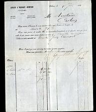 """ORLEANS (45) GRAINES & LEGUMES SECS """"LEPAGE , WILMART & BOMPARD"""" en 1880"""