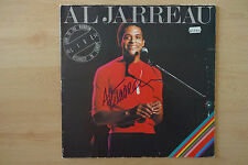 "Al Jarreau Autogramm signed LP-Cover Vinyl ""Look To The Rainbow -Live In Europe"""
