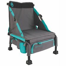 Coleman Treklite Plus 2-in-1 12 Can Backpack Coolerpack and 14-Inch Chair, Teal