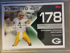 2007 Topps Brett Favre Collection #BF178 flight to 420 : Green Bay Packers