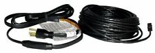 New With Thermostat Heat Roof Gutter De-icing Ice Snow Melter Cable Kit -60ft