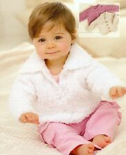Baby Knitting Pattern Chunky  Cardigan's. 3 Designs,  Birth to 7 Years  #284
