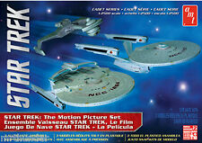 Star Trek Motion Picture Set Kit Amt 2015 Enterprise / Reliant / Klingon Cruiser