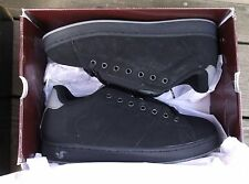 2006 DVS REVIVAL SKATEBOARD SHOES BLACK NUBUCK SIZE 9 - VERY RARE
