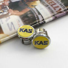 Vintage 80s KAS Team, Vitus, Sean Kelly, Chrome Racing Bar Plugs, Caps, Repro