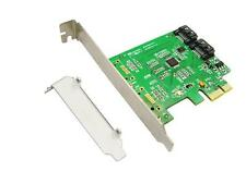 2 Ports Internal PCI-Express SATA 3.0 6Gb/s Expansion Card Chipset For Marvell