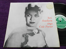 "JERI SOUTHERN  "" SINGS COLE PORTER ""  UK LP  WRC  ST 383"