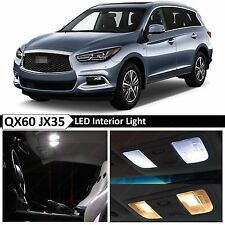 15x White Interior LED Lights Package Kit for 2013-2016 QX60 JX35 + TOOL