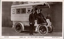 London Life. City Police Motor Ambulance by Rotary # 10513-29.