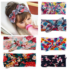 6pcs Kid Baby Girl Bohemia Headscarf Headband Headwear Hair Band Bow Accessories
