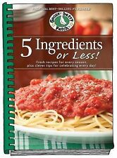 5 Ingredients or Less Cookbook: Fresh recipes for every season plus clever tips