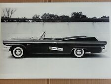 "12 By 18"" Black & White Picture of 1960 Dodge Polara Convertible"