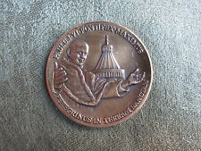 Paul VI -- 1964 -- Holy Land Pilgrimage -- Bronze Medal -- Catholic / Religious