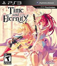 Time and Eternity (Sony PlayStation 3, 2013) BRAND NEW SEALED