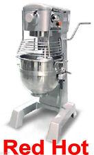 Fma Omcan Commercial 30 QT 2 HP Food Pizza Dough Bakery Mixer MX-CN-0030-G 20442