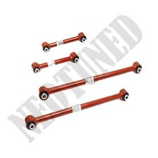 RED TOYOTA AE86 TRUENO GTS SR5 4A 4AGE 85-87 REAR ADJUSTABLE 4 LINKS SUSPENSION