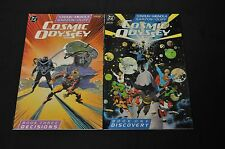DC COSMIC ODDYSEY BOOK ONE AND BOOK 2 LOT HOT! DARKSIED