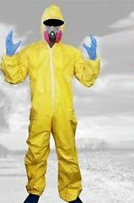 Breaking Bad Walter White Outfit Hazmat Suit Halloween Cosplay Costume Suit Mask