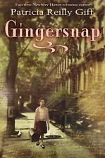Gingersnap, Giff, Patricia Reilly, Good Book