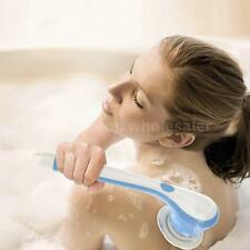 Cordless Electric Spin Spa 3-in-1 Body Cleansing Brush Blue Massage Shower T5Y8
