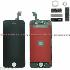 LCD DISPLAY RETINA PER IPHONE 5S NERO ORIGINAL APPLE TOUCH SCREEN VETRO TESTATI