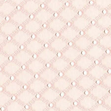 "Michael Miller LATTICE EYELET PINK 100%COTTON EMBROIDER FABRIC 54"" FQ ET6345CON"