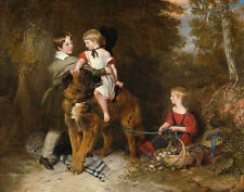 Landseer Charles Portrait Of The Children Of Rev Edward Coleridge Print    #5286