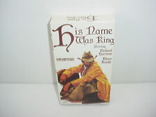 His Name Was King VHS Video Tape Movie