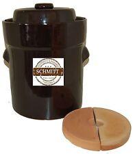 Pot à choucroute en grès pour la lactofermentation 25 litres