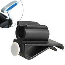 Golf Bag Clip On Putter Clamp Holder Putting Organizer Club Ball Marker Black
