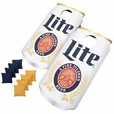 Pilsner Miller Lite Can Bean Bag Toss Cornhole Corn Hole Game Boards
