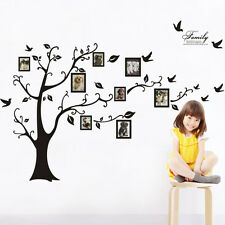 Family Tree Wall Sticker, Photo, Picture Frame. Available in white or black