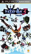 Used PSP Patapon 3  Japan Import ((Free shipping))